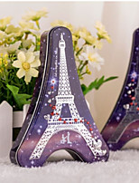 cheap -Eiffel Tower Iron(nickel plated) Favor Holder with Pattern / Print Favor Boxes - 1pc