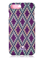 billige -Etui Til Apple iPhone 8 iPhone 7 Mønster Fuldt etui Geometrisk mønster Hårdt PC for iPhone 8 Plus iPhone 8 iPhone 7 Plus iPhone 7 iPhone