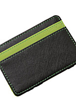 cheap -Men's Bags PU Wallet Tiered for Casual All Seasons Green Orange