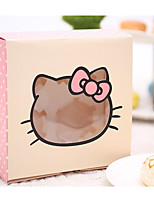 cheap -Square Shape Card Paper Favor Holder with Cupcake Wrapper and Boxes - 1pc