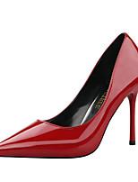 cheap -Women's Shoes PU Spring Summer Comfort Basic Pump Heels Stiletto Heel Pointed Toe Closed Toe for Party & Evening Office & Career Dark