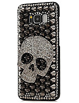 cheap -Case For Samsung Galaxy S8 Plus S8 Rhinestone Back Cover Skull Hard PC for S8 Plus S8
