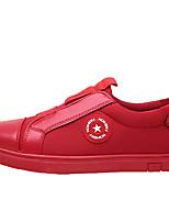 economico -Per uomo Scarpe PU (Poliuretano) Inverno Comoda Sneakers per Casual Nero Rosso Nero/Rosso