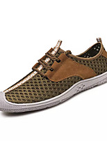 cheap -Men's Shoes PU Spring Fall Comfort Sneakers for Casual Gray Brown Blue