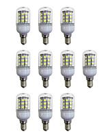 cheap -10pcs 3.5W 280 lm E12/E14 LED Corn Lights 60 leds SMD 2835 LED Light White AC 110-120V