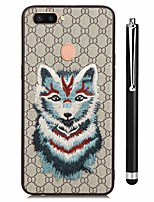 cheap -Case For Vivo vivo X20 Plus vivo X20 Pattern Back Cover Animal Soft TPU for Vivo X20 Plus Vivo X20