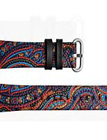 economico -Cinturino per orologio  per Apple Watch Series 3 / 2 / 1 Apple Chiusura moderna Vera pelle Custodia con cinturino a strappo