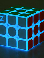cheap -Rubik's Cube z-cube Luminous Glow Cube 3*3*3 Smooth Speed Cube Magic Cube Puzzle Cube Office Desk Toys Stress and Anxiety Relief