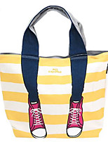cheap -Women's Bags Canvas Tote Embroidery for Casual Outdoor All Seasons Blue Red Gray Yellow
