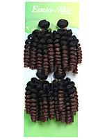 economico -Saniya Curl Bouncy Curl Treccine afro Capelli ricci stile giamaicano 1pack Trecce per capelli a crochet Trecce Crochet pre-ciclo Trecce