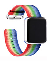 cheap -Watch Band for Apple Watch Series 3 / 2 / 1 Apple Sport Band Nylon Wrist Strap