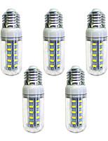 cheap -5pcs 4W 350 lm E26/E27 36 leds SMD 5730 LED Light White AC 220-240V