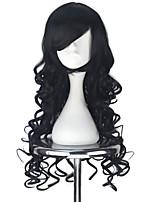 abordables -Perruques de lolita Lolita Noir Princesse Perruque Lolita  75 CM Perruques de Cosplay Halloween Perruque Pour