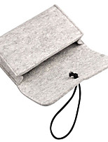 cheap -Storage Bags For Power Supply Flash Drive Hard Drive Power Bank Headphone/Earphone Solid Color Textile