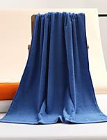 abordables -Style frais Serviette, Couleur Pleine Qualité supérieure Mélangé polyester/coton 100% coton Serviette