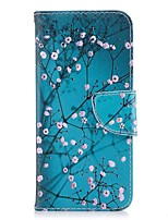 cheap -Case For Huawei Honor 8 Honor 7X Card Holder Wallet with Stand Flip Magnetic Full Body Cases Flower Hard PU Leather for Honor 8 Honor 7X