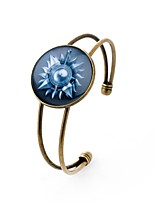 cheap -Men's Cuff Bracelet , Vintage Rock Glass Alloy Circle Jewelry Prom Street Costume Jewelry
