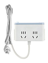 cheap -Home Charger Phone USB Charger Universal USB Power Strips Multi Ports 2 USB Ports 10A AC 250V