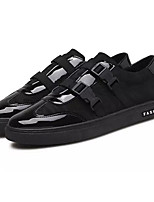 cheap -Men's Shoes Patent Leather Spring Fall Light Soles Sneakers for Casual White Black Red