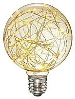 Недорогие -1шт 3 Вт. 300 lm E26/E27 LED лампы накаливания G95 33 светодиоды SMD Декоративная Светодиодные фонарики Тёплый белый AC 85-265V