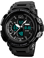 cheap -SKMEI Men's Digital Watch Military Watch Sport Watch Japanese Digital Alarm Chronograph Water Resistant / Water Proof Stopwatch Three