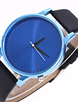 cheap -Men's Women's Fashion Watch Chinese Quartz Casual Watch Leather Band Fashion Black White