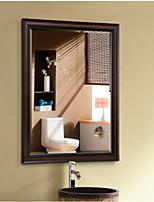 Недорогие -Зеркало Современный Закаленное стекло Крепление к стене