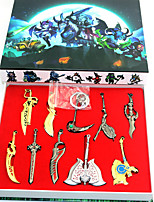 economico -Altri accessori Ispirato da Sword Art Online Altro Anime Accessori Cosplay Other Cromo