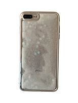 abordables -Coque Pour Apple iPhone X Transparente Coque Fleur Dur PC pour iPhone X iPhone 8 Plus iPhone 8 iPhone 7 Plus iPhone 7 iPhone 6s Plus