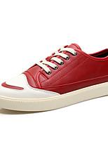 economico -Per uomo Scarpe PU sintetico Primavera Autunno Comoda Sneakers per Casual Nero Beige Rosso