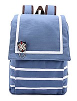 cheap -Women's Bags Canvas Backpack Zipper for Casual All Seasons Blue Fuchsia