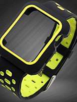 Недорогие -Ремешок для часов для Apple Watch Series 3 / 2 / 1 Apple Спортивный ремешок силиконовый Повязка на запястье