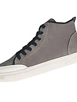 cheap -Men's Shoes Nubuck leather Spring Fall Comfort Sneakers for Casual Black Gray Yellow