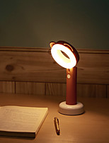 cheap -1pc LED Night Light Warm White Built-in Li-Battery Powered USB Port Rechargeable Dimmable Touch Sensor Bedside with USB Port