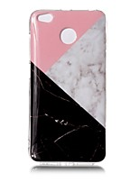 cheap -Case For Xiaomi Redmi 4X IMD Pattern Back Cover Marble Soft TPU for Xiaomi Redmi 4X