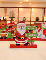 cheap -Christmas Gifts / Christmas Wooden Wedding Decorations Holiday Winter Autumn/Fall