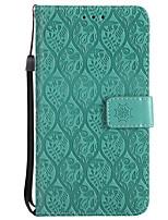 abordables -Funda Para Huawei P8 Lite (2017) P10 Lite Soporte de Coche Cartera con Soporte Flip Diseños Funda de Cuerpo Entero Color sólido Impresión