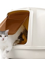 cheap -Cats Cleaners & Polishes Pet Carrier Trainer Portable Professional Easy to Install Solid Square Beige
