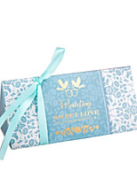 cheap -Others Card Paper Favor Holder with Satin Bow Pattern / Print Favor Boxes - 1pc