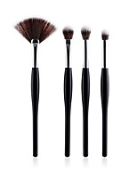 cheap -Makeup Brush Set Foundation Brush Synthetic Hair Soft Full Coverage Wooden Nose Face