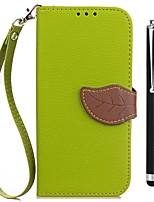 cheap -Case For Vivo vivo Y53 vivo Xplay6 Card Holder Wallet with Stand Flip Full Body Cases Solid Color Hard PU Leather for Vivo Y53 Vivo