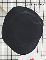 cheap -Cotton Sun Hat, Casual Fall Black