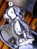 Недорогие -1шт Нержавеющая сталь Ситечко для чая Высокое качество , 7.5*3.8*3