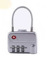 cheap -mechanical code lock travel abroad customs code lock luggage box three pin padlock tsa320