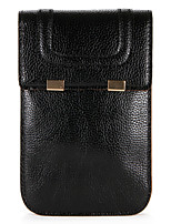 baratos -Capinha Para Apple iPhone X iPhone 8 Porta-Cartão Carteira Bolsa Côr Sólida Macia PU Leather para iPhone X iPhone 8 Plus iPhone 8 iPhone