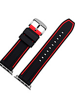abordables -Bracelet de Montre  pour Apple Watch Series 3 / 2 / 1 Apple Bracelet Sport Boucle Moderne Silikon Sangle de Poignet