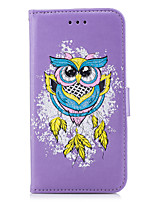 cheap -Case For Xiaomi Redmi Note 4X Redmi 4X Card Holder Flip Pattern Full Body Cases Owl Hard PU Leather for Xiaomi Redmi Note 4X Xiaomi Redmi