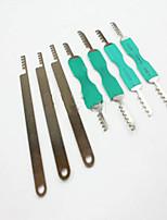 abordables -herramientas de reparación de llaves de candado universales de acero inoxidable