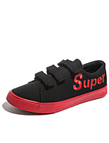 cheap -Men's Shoes Canvas Spring Fall Comfort Sneakers for Casual Black Black/White Black/Red