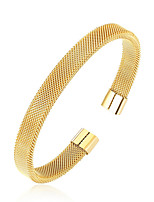 cheap -Men's Bangles Simple Casual Stainless Circle Jewelry Daily Going out Costume Jewelry